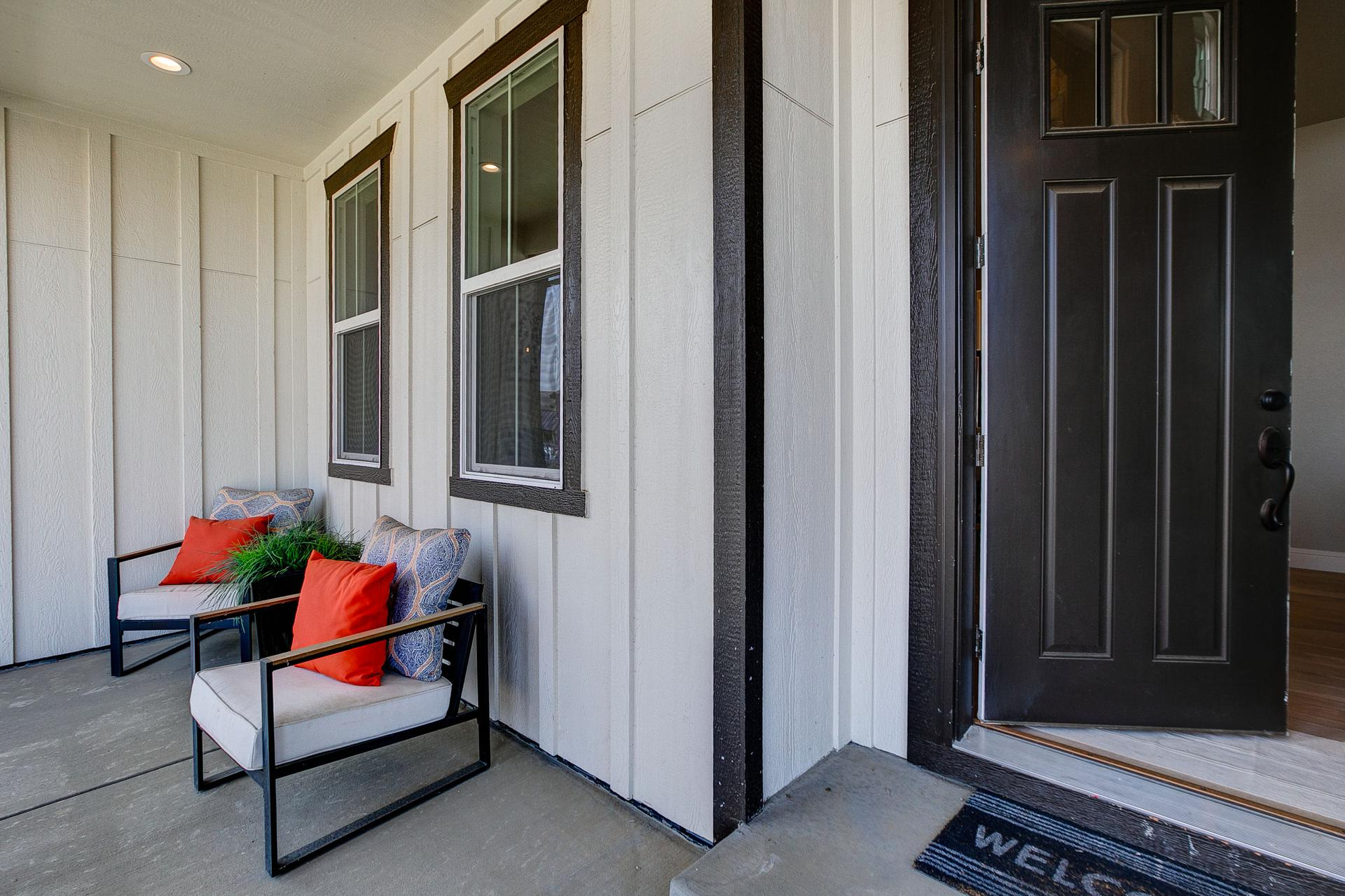 Porch. 3br New Home in Windsor, CO