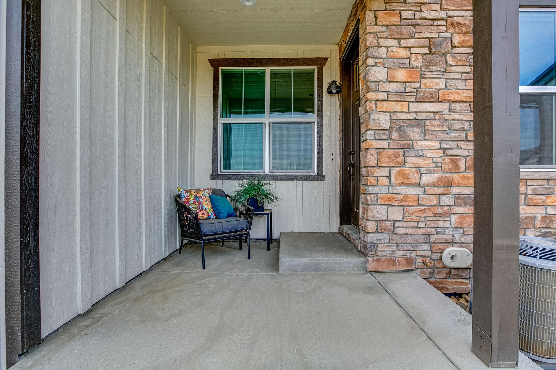 Porch. 2br New Home in Windsor, CO