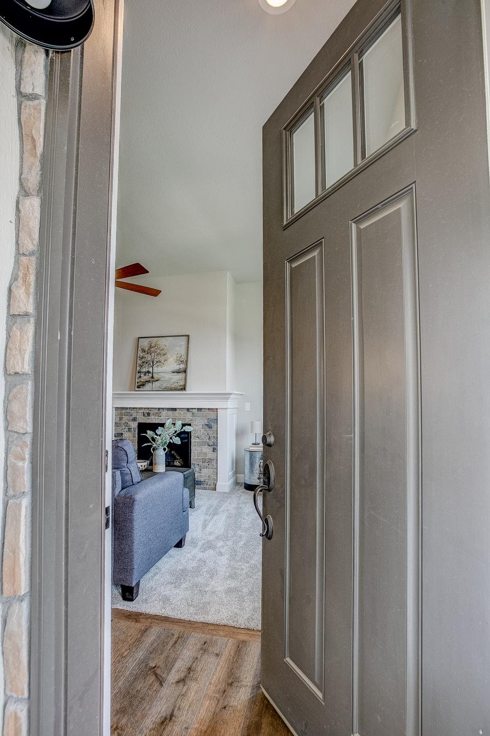 Entry. 1,691sf New Home in Windsor, CO