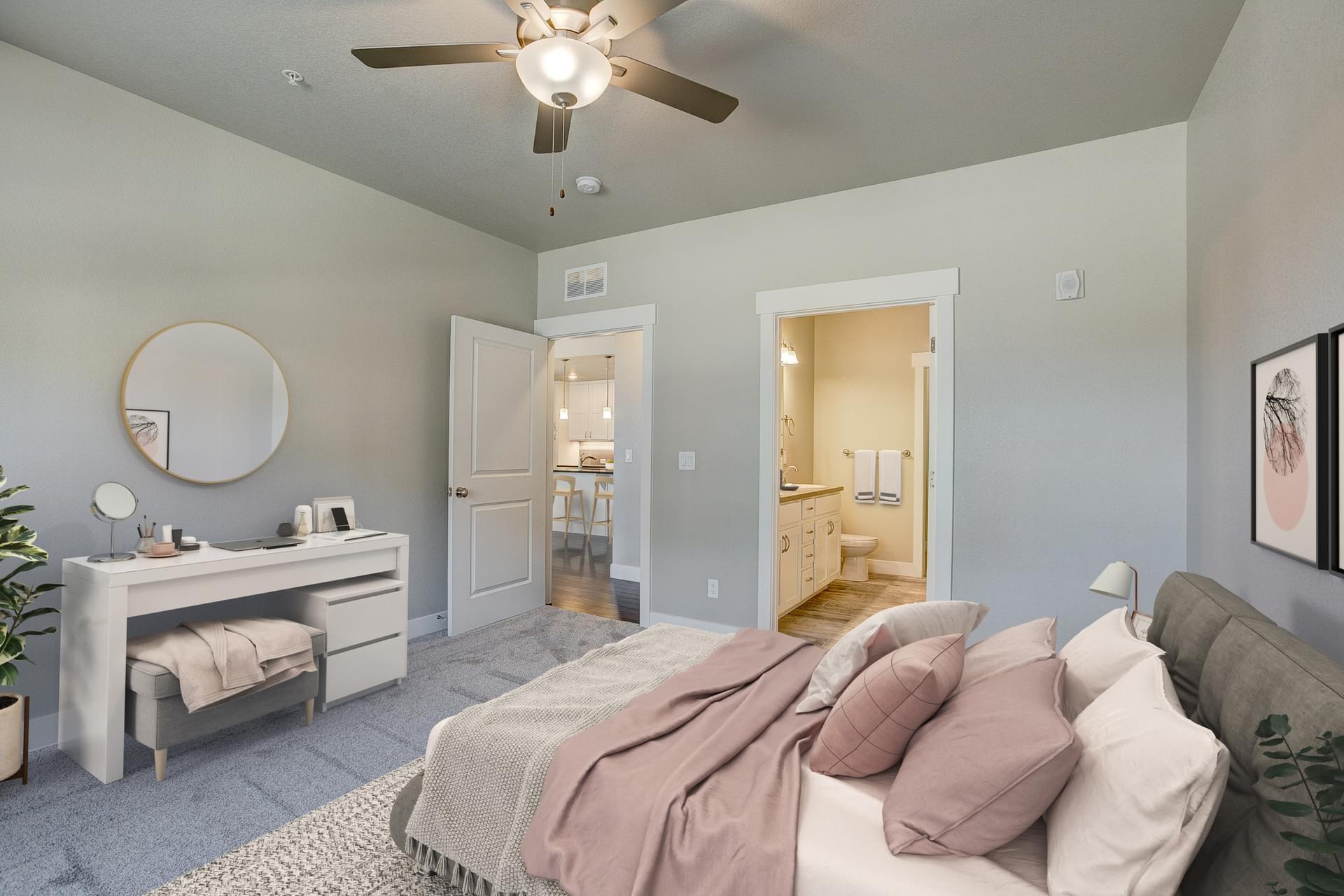 Master Bedroom -  Previous Cambridge Floor Plan