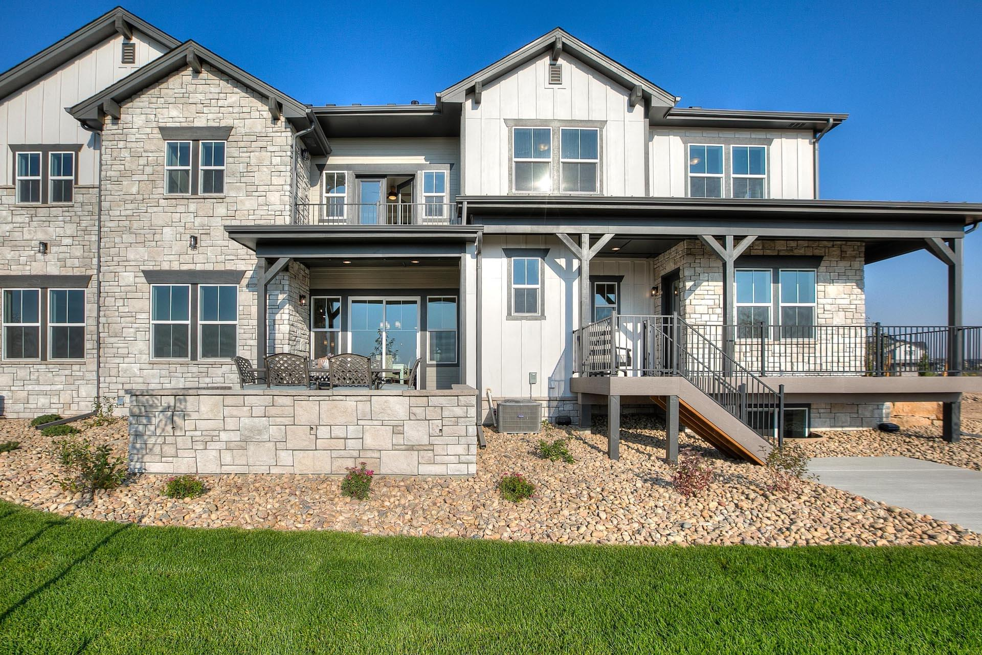 Exterior. New Homes in Timnath, CO