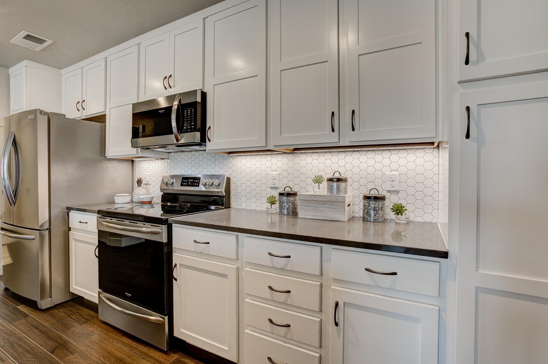 Kitchen -  Previous Cambridge Floor Plan. Cambridge New Home Floor Plan