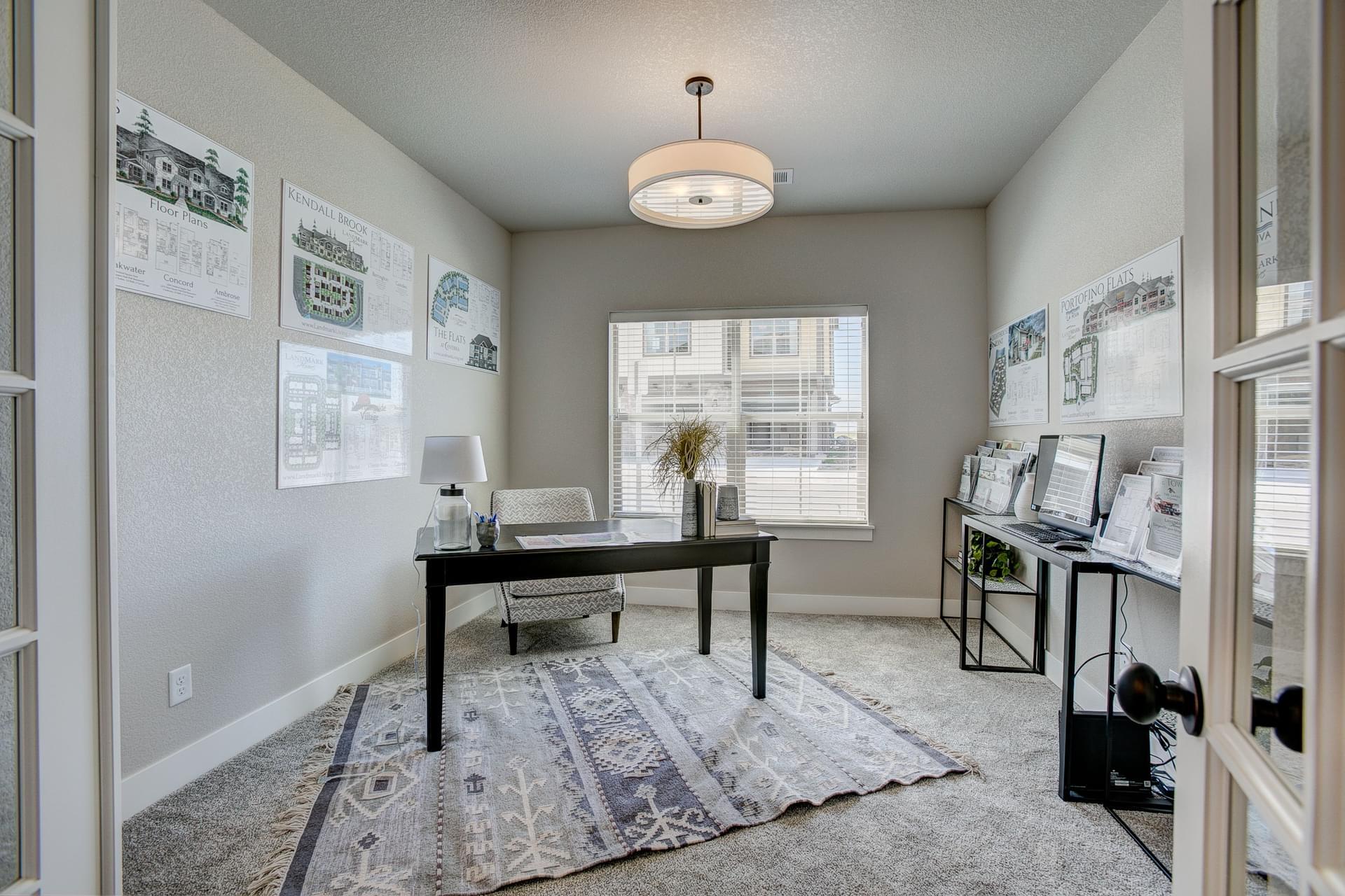 Bedroom 2 / Opt Office -  Previous Cambridge Floor Plan