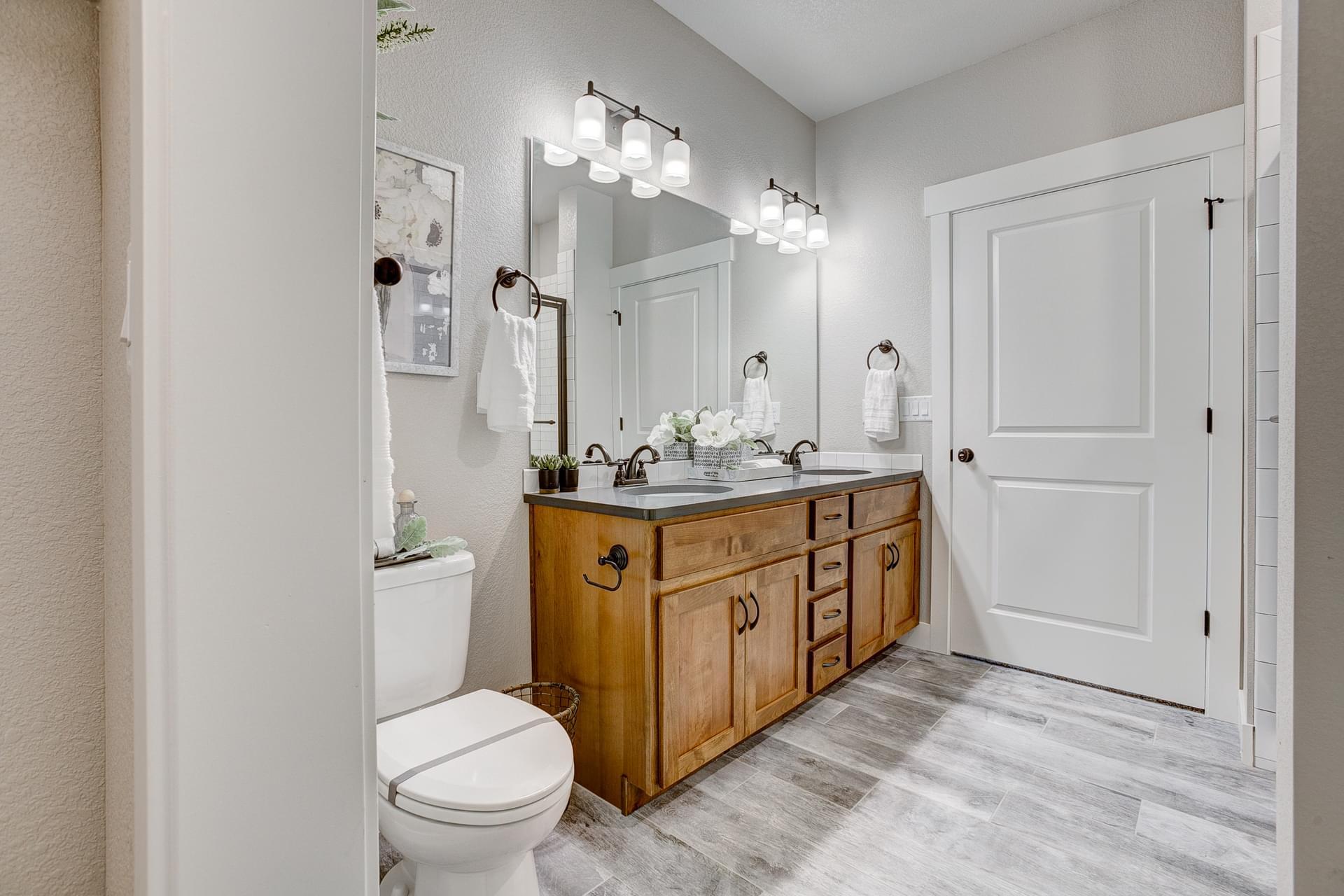 Master Bath -  Previous Cambridge Floor Plan
