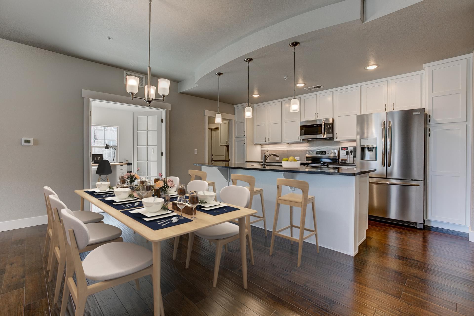 Kitchen -  Previous Cambridge Floor Plan