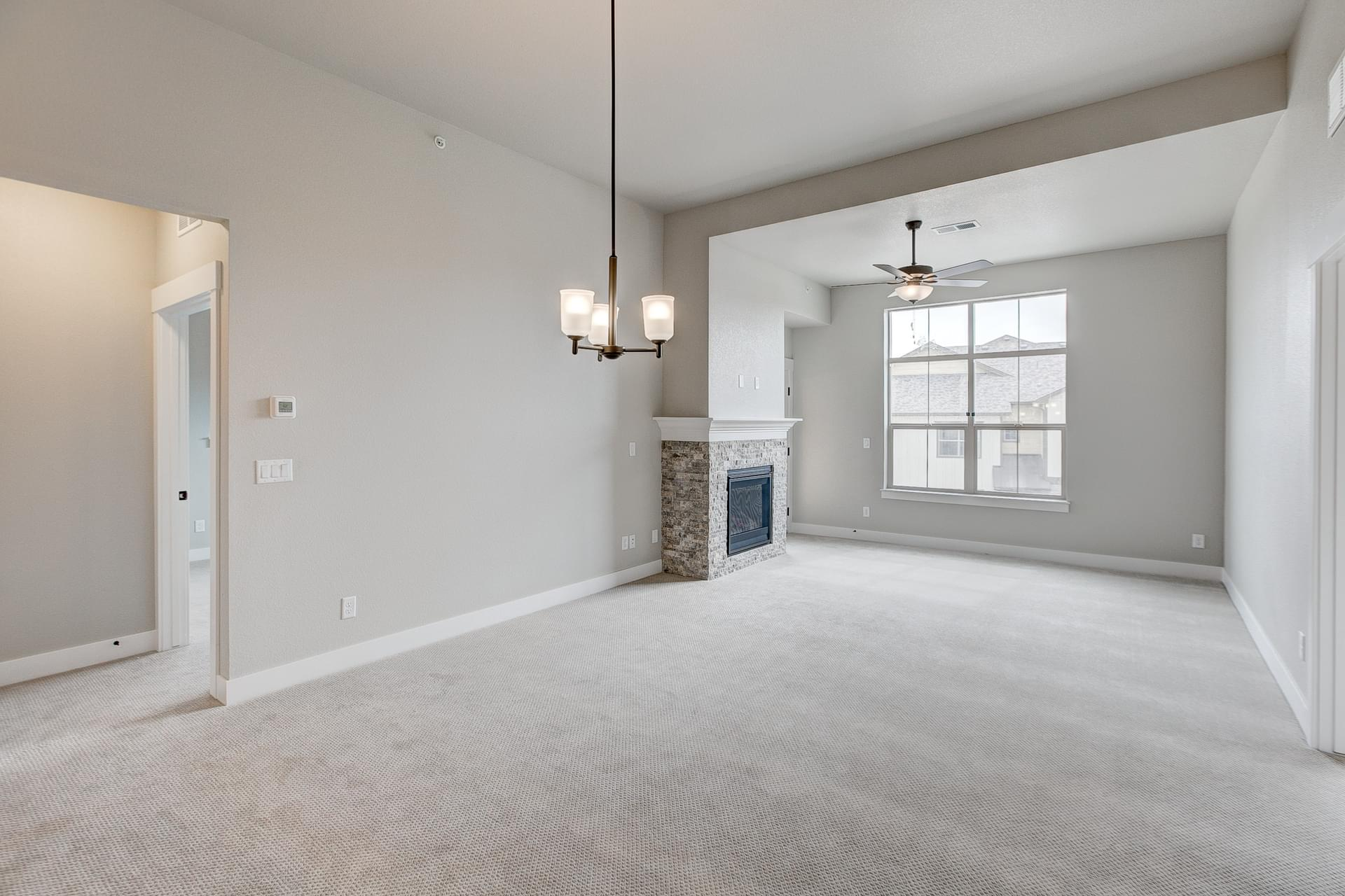 Living Room - Previous Oxford Floor Plan