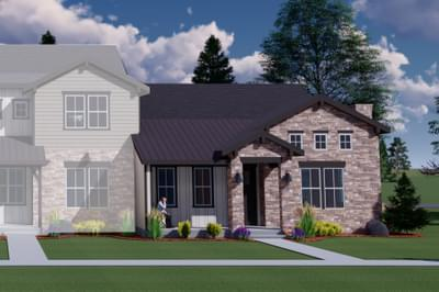 The Duxbury new home in Berthoud CO