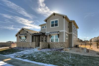 The Turnberry new home in Landmark Homes, Custom Homes CO
