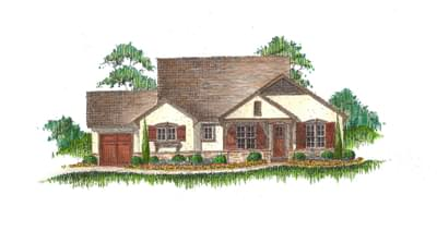 The Cambria new home in Landmark Homes, Custom Homes CO