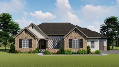 The Castle Pines new home in Landmark Homes, Custom Homes CO