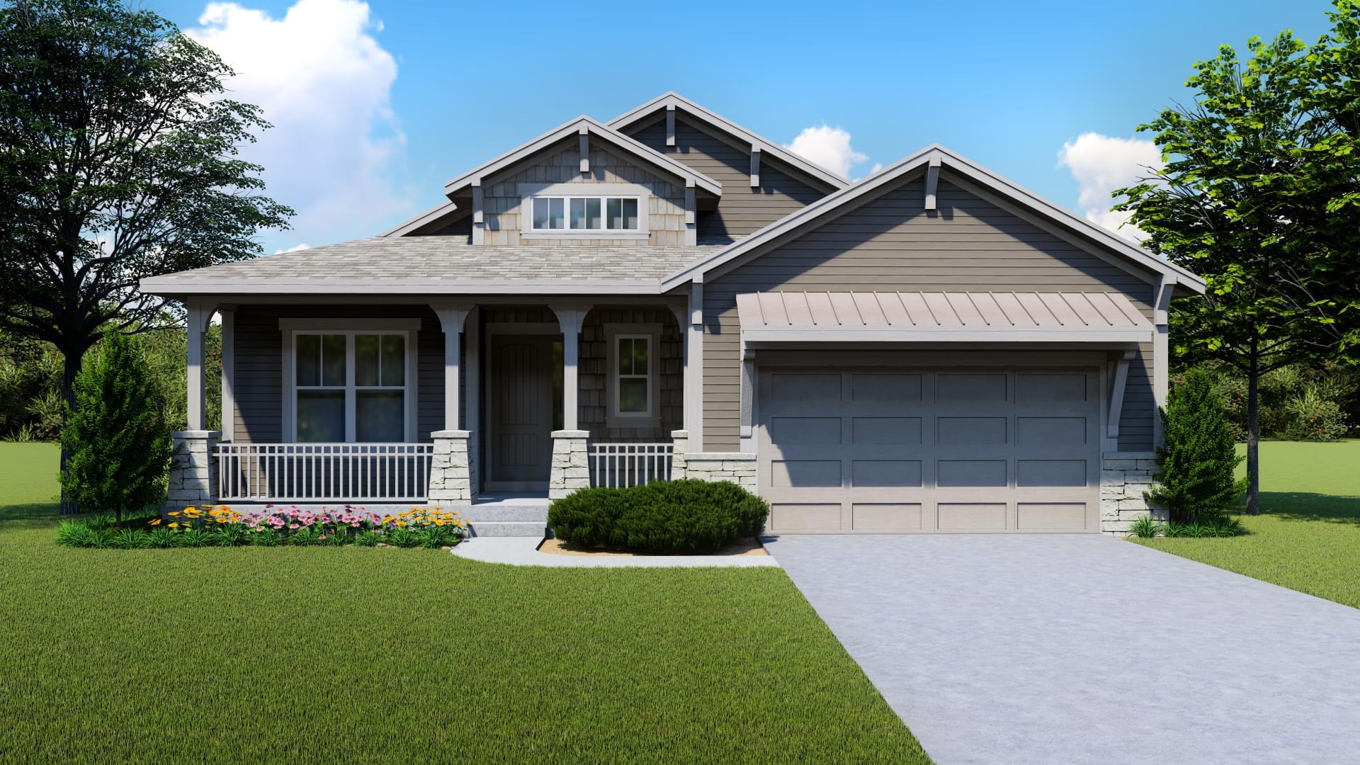 Edora Craftsman 1. 1,876sf New Home in Windsor, CO