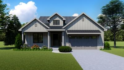 Hillsdale New Home Floor Plan
