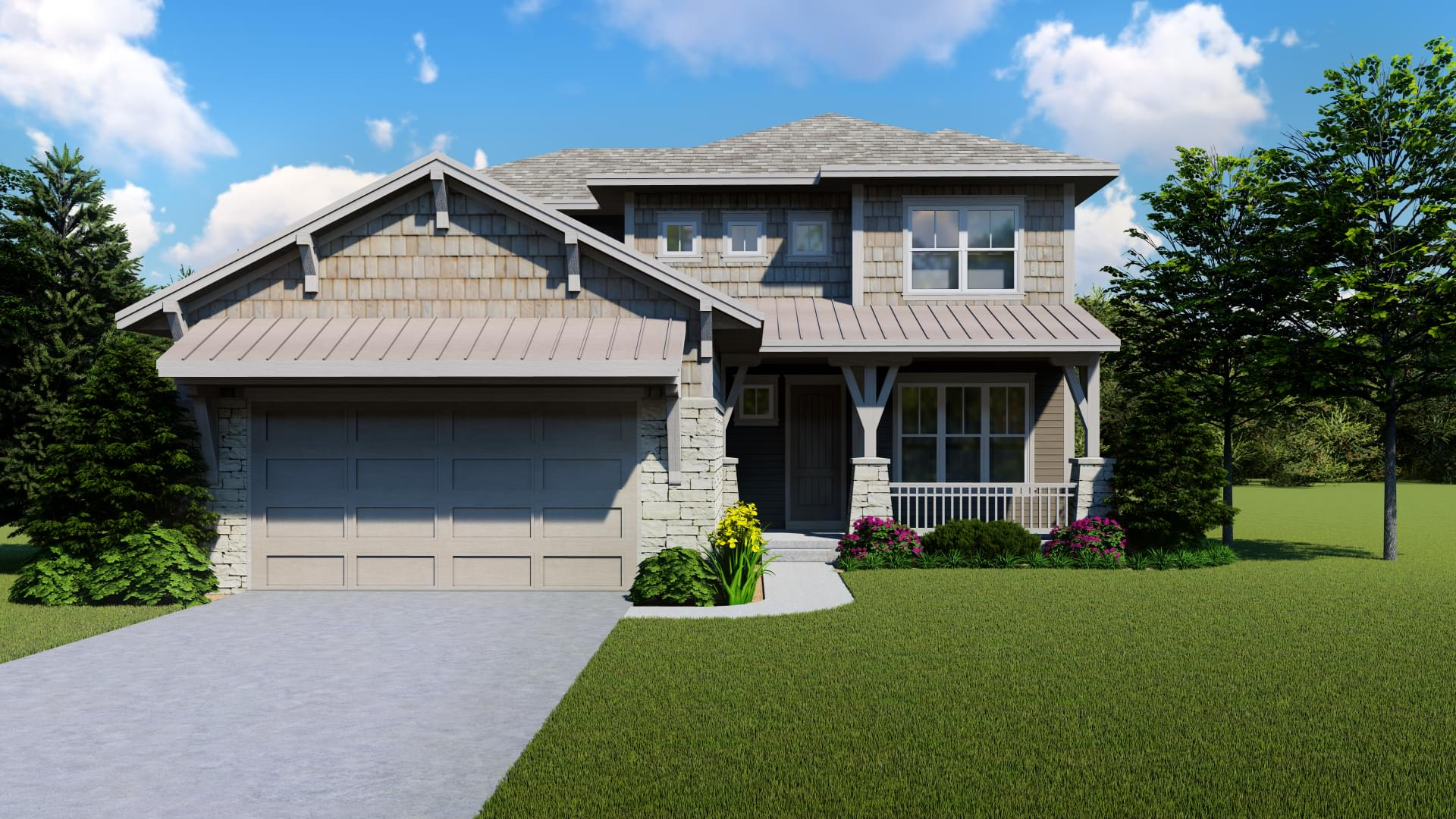 Spring Canyon Craftsman 1. New Home in Windsor, CO