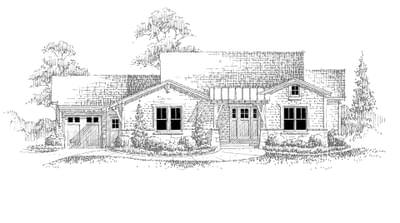 The St. Andrews new home in Landmark Homes, Custom Homes CO