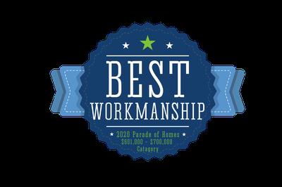 Landmark Homes -  2020 – NOCO HBA Parade of Homes - Best Workmanship for $600,000+ Homes