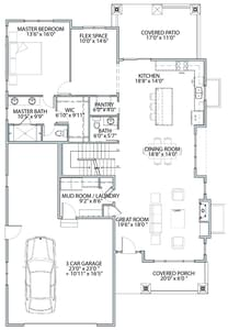 Boardwalk New Home Floor Plan