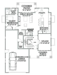 Spring Canyon New Home Floor Plan