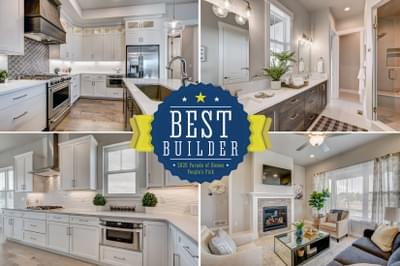 Landmark Homes -  2020 – NOCO HBA Parade of Homes – People's Choice for Best Builder
