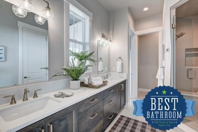 Landmark Homes -  2020 – NOCO HBA Parade of Homes – People's Choice for Best Bath