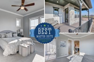 Landmark Homes -  2020 – NOCO HBA Parade of Homes – People's Choice for Best Master Suite
