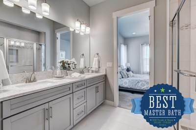 Landmark Homes -  2020 – NOCO HBA Parade of Homes - Best Master Bath for $600,000+ Homes