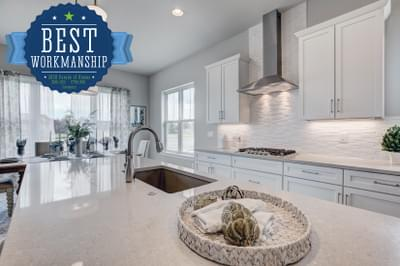 Landmark Homes -  2020 – NOCO HBA Parade of Homes – People's Choice for Best Kitchen