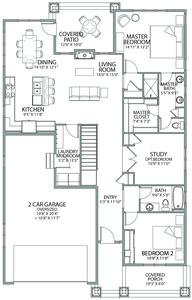 Avery Home with 2 Bedrooms