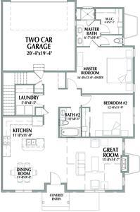 Main Level . Devon New Home in Windsor, CO