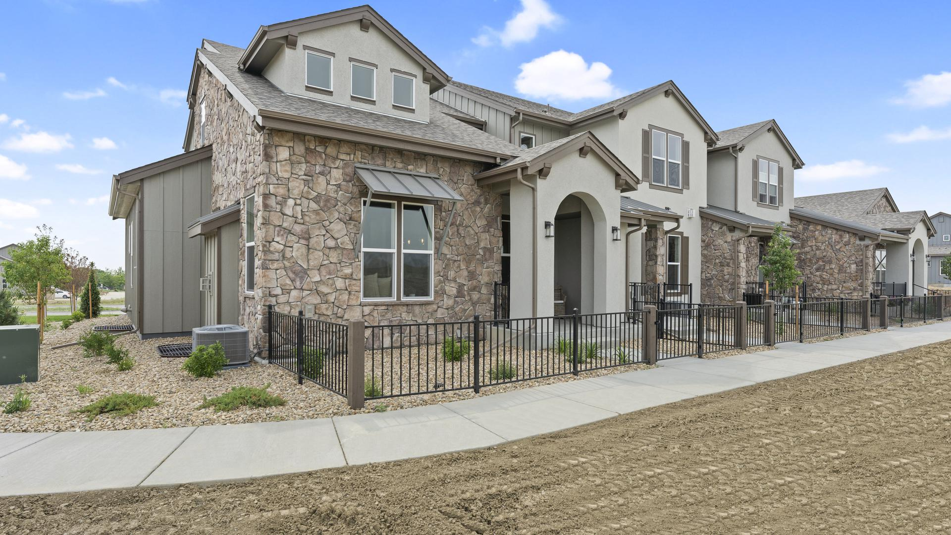 Exterior. Vernazza New Homes in Windsor, CO