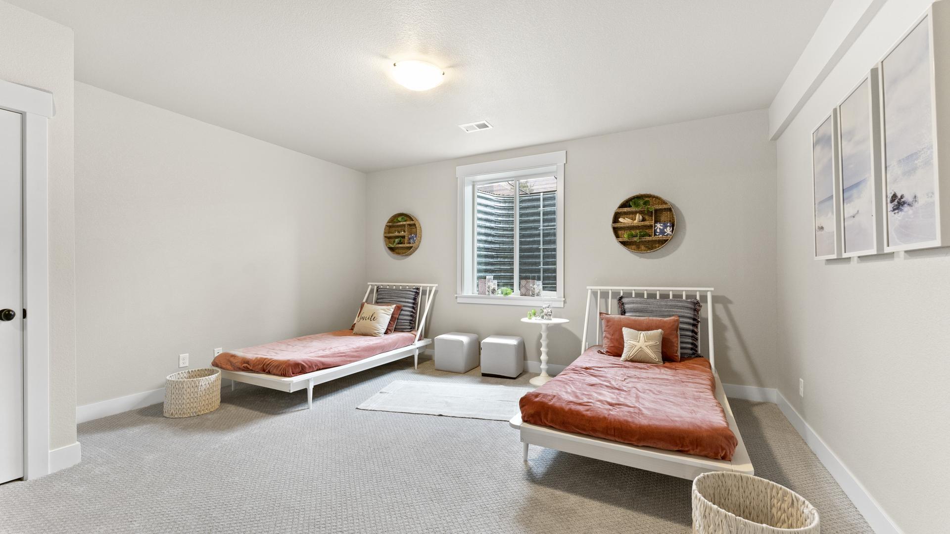 Finished Basement - bedroom