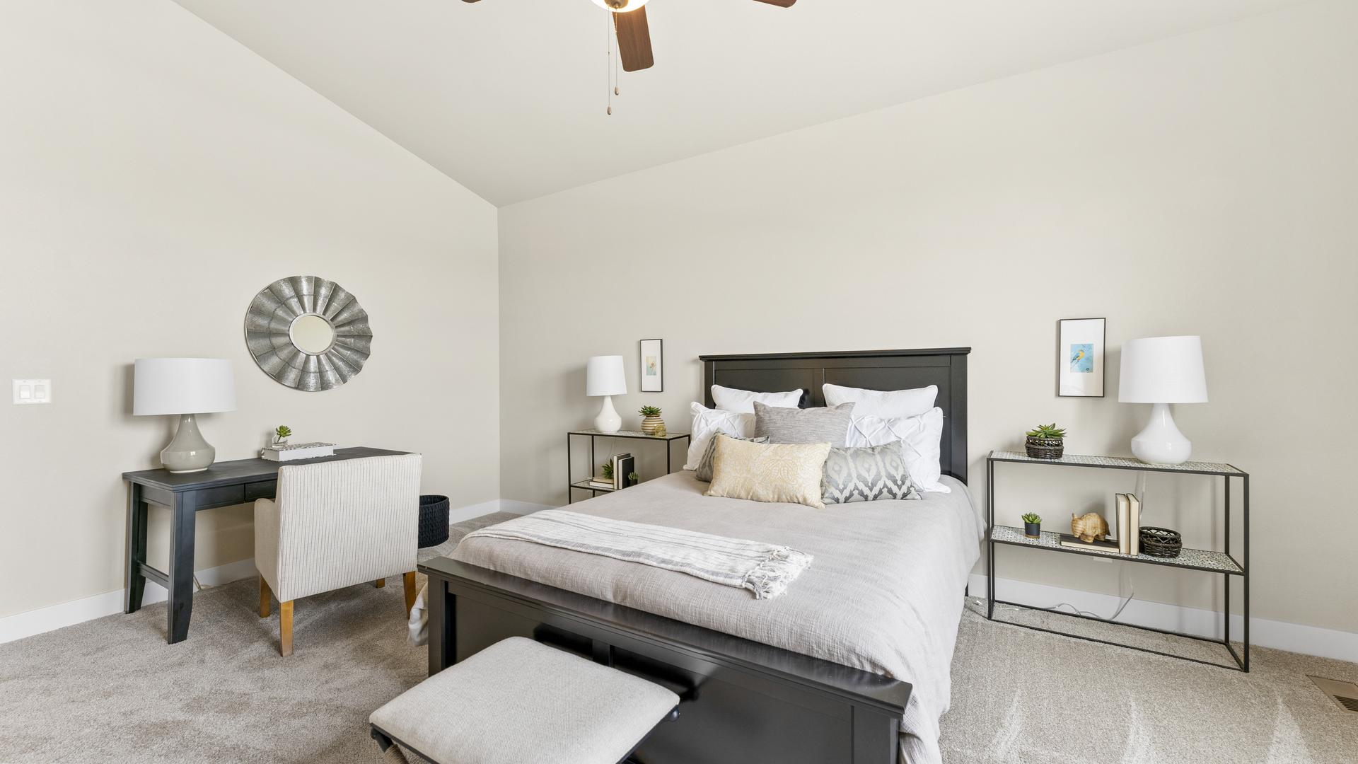 Master Bedroom - Not Actual Home - Finishes Will Vary