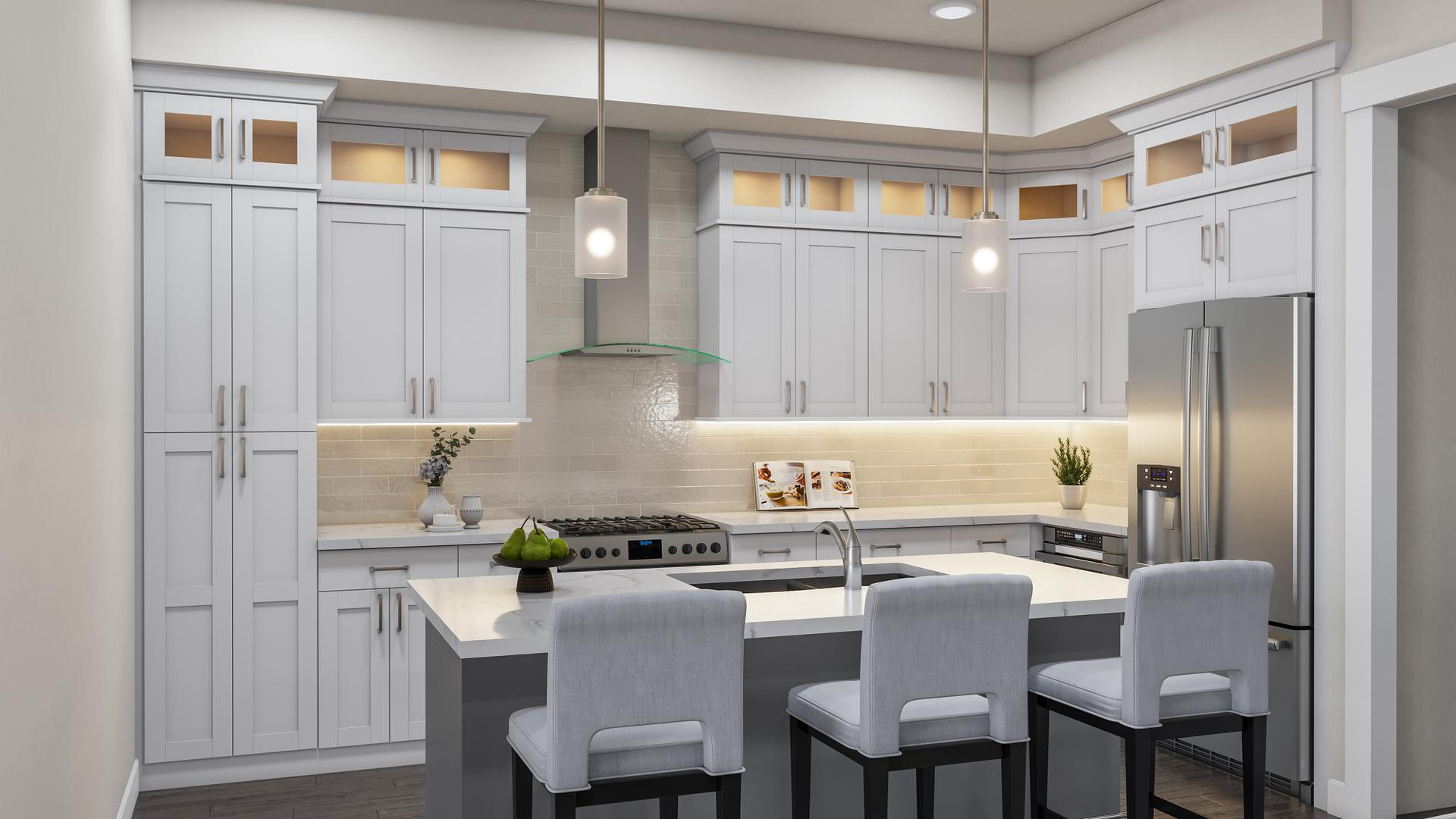 Kitchen. 3br New Home in Timnath, CO