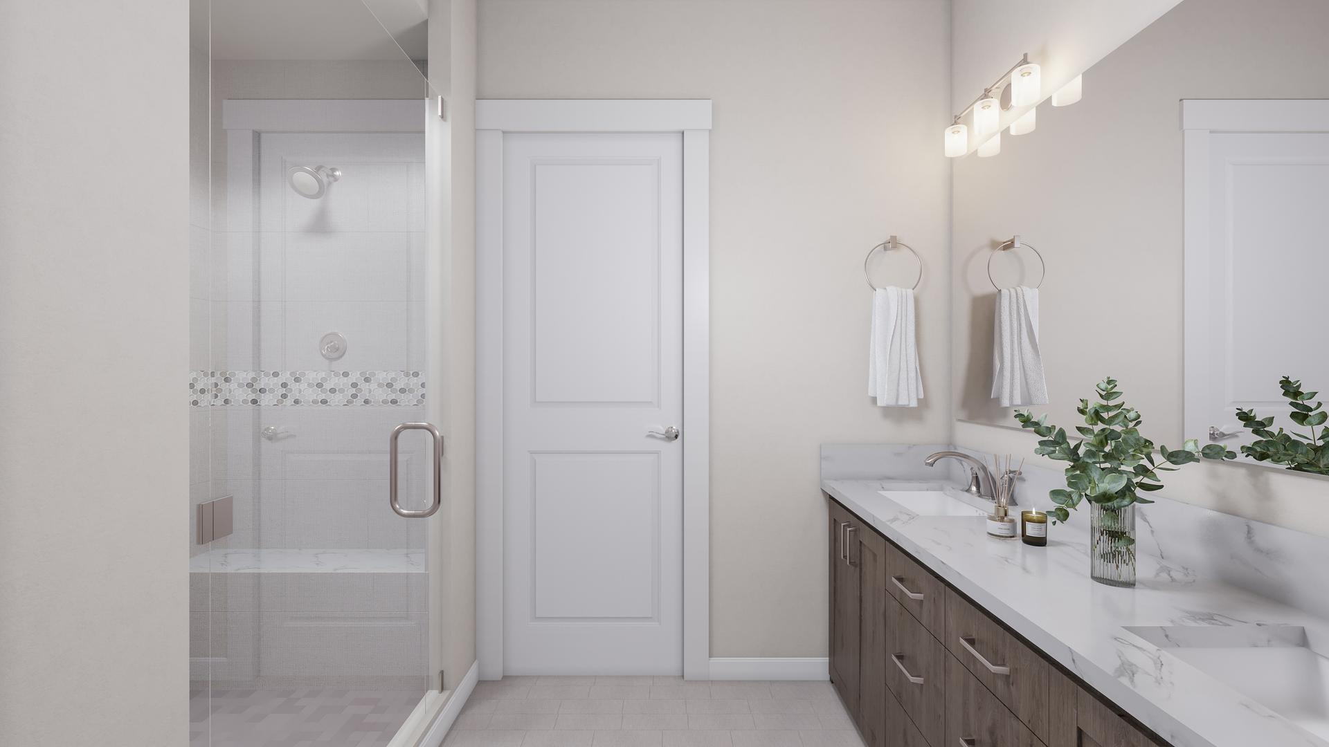 Master Bath. 2,232sf New Home in Timnath, CO