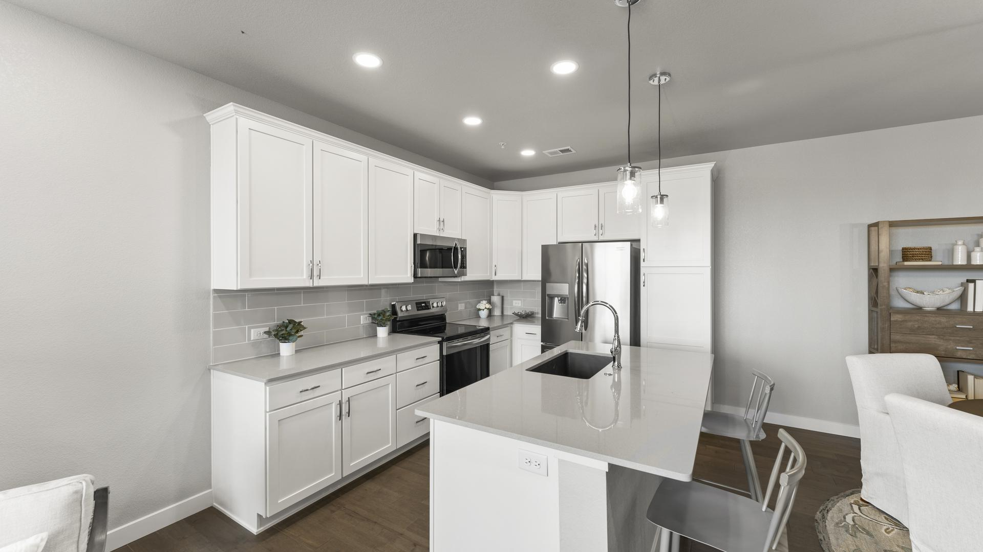 Kitchen - Not Actual Home - Finishes Will Vary . Loveland, CO New Home