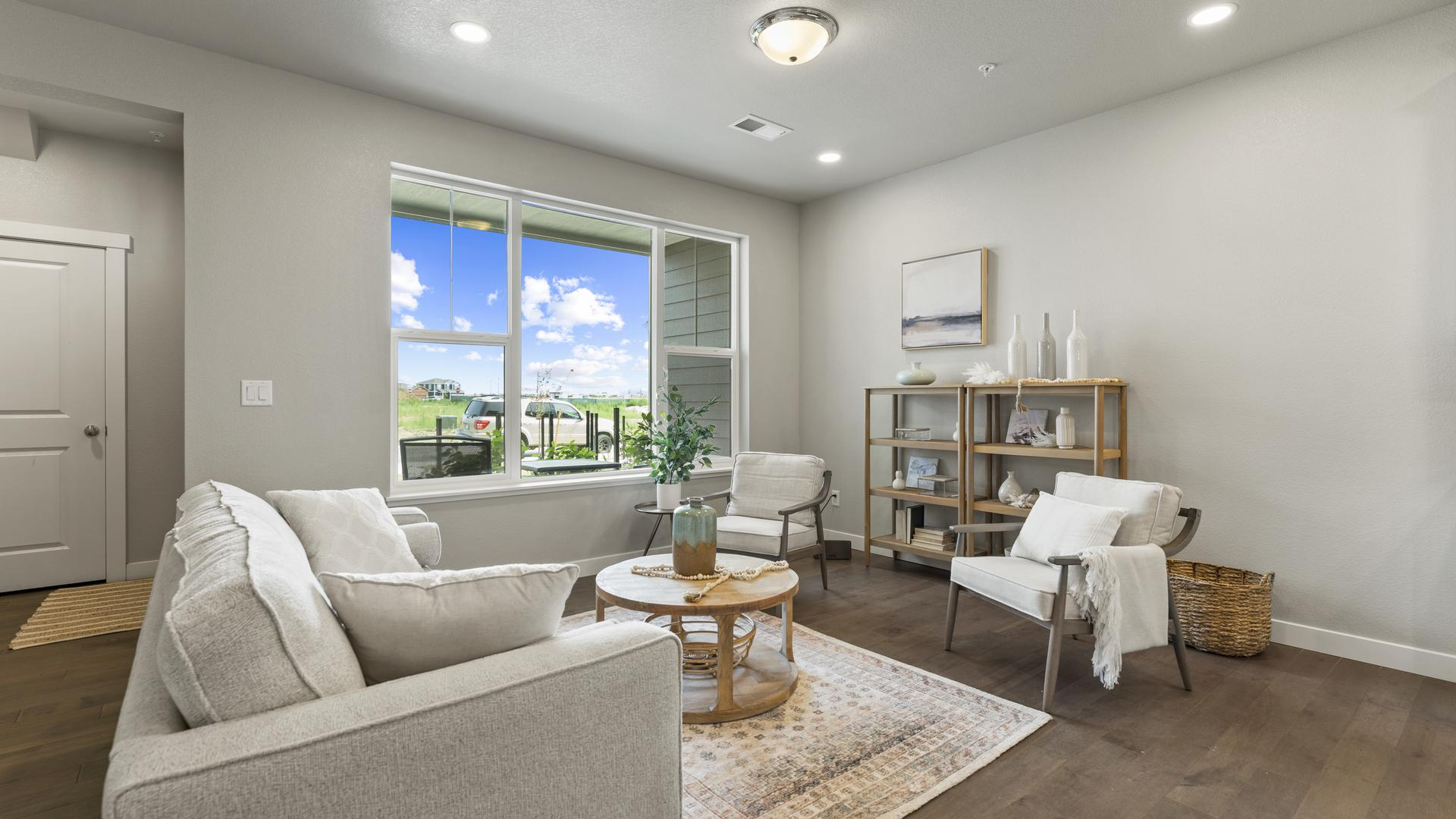 Living Room - Not Actual Home - Finishes Will Vary