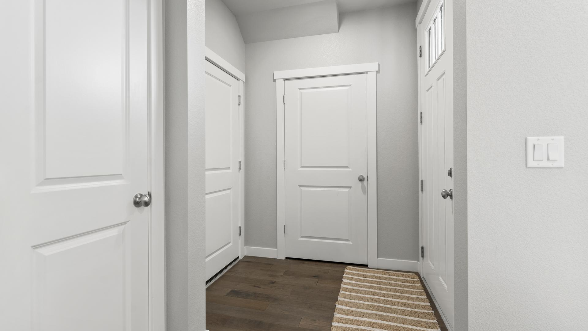 Hallway - Not Actual Home - Finishes Will Vary