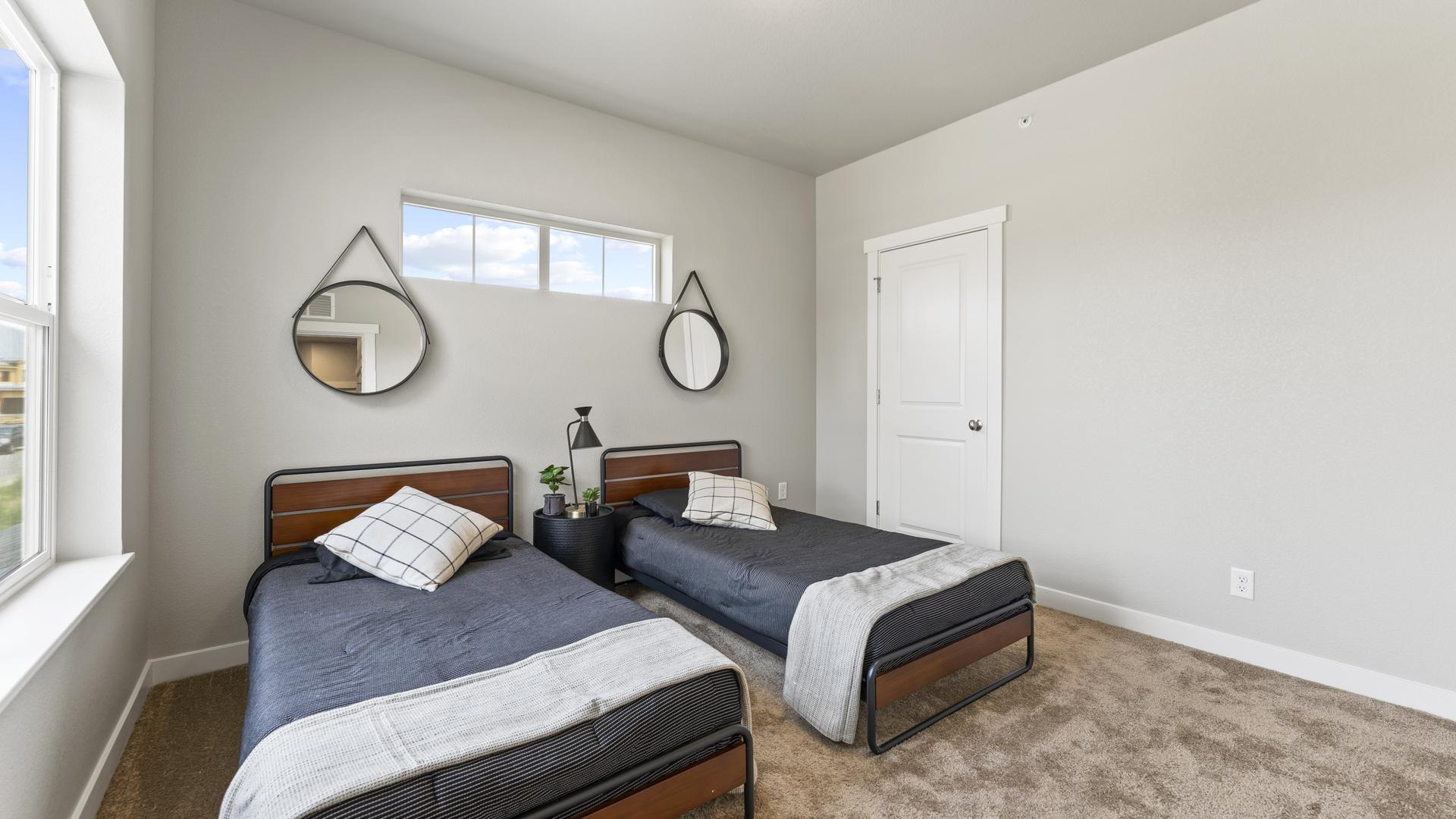 Bedroom 3 - Not Actual Home - Finishes Will Vary