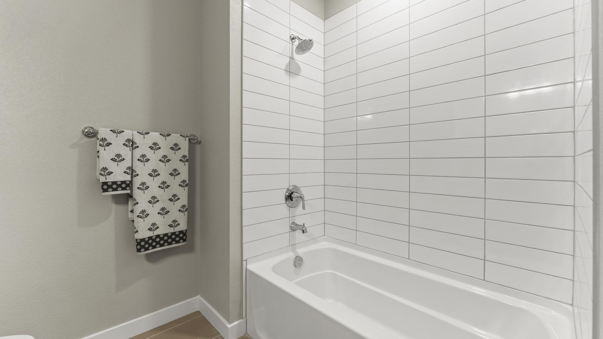 Bath 2 - Not Actual Home - Finishes Will Vary