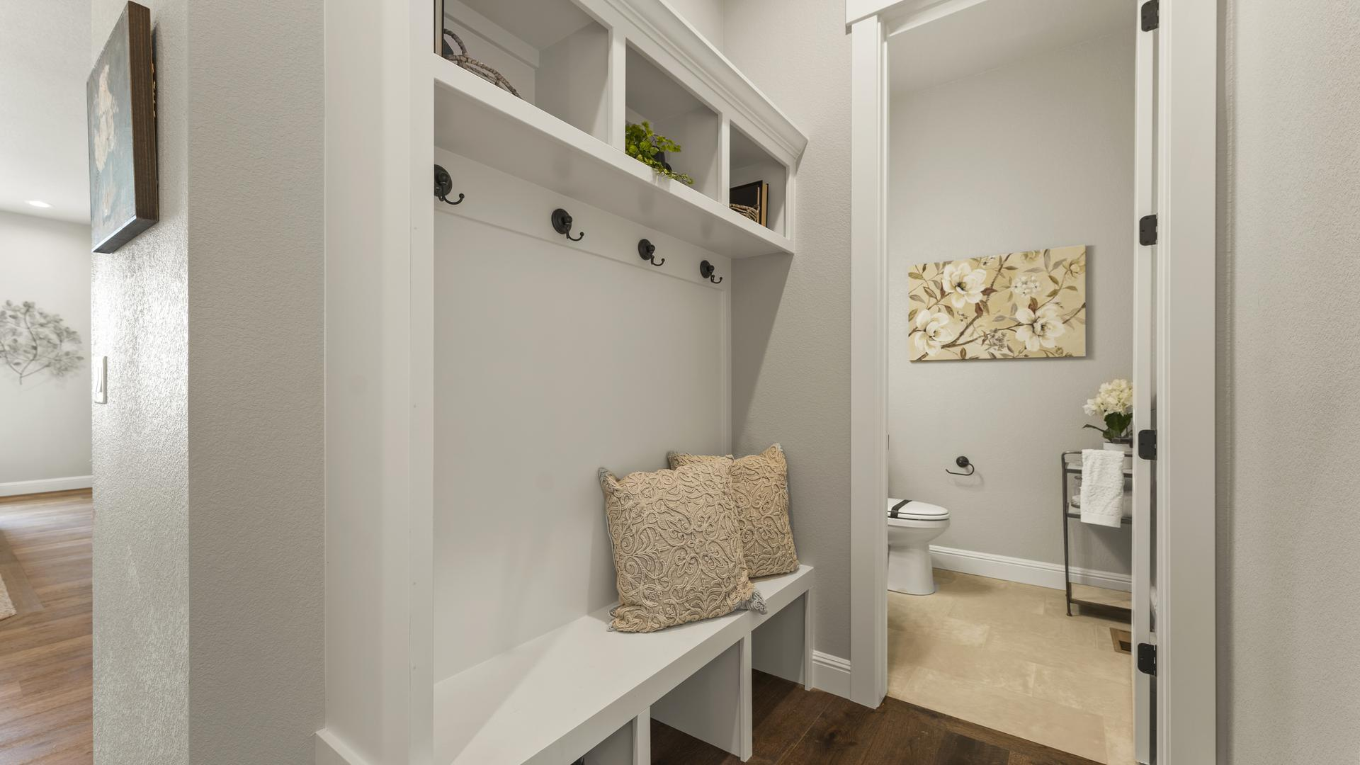 Mudroom - Not Actual Home - Finishes Will Vary