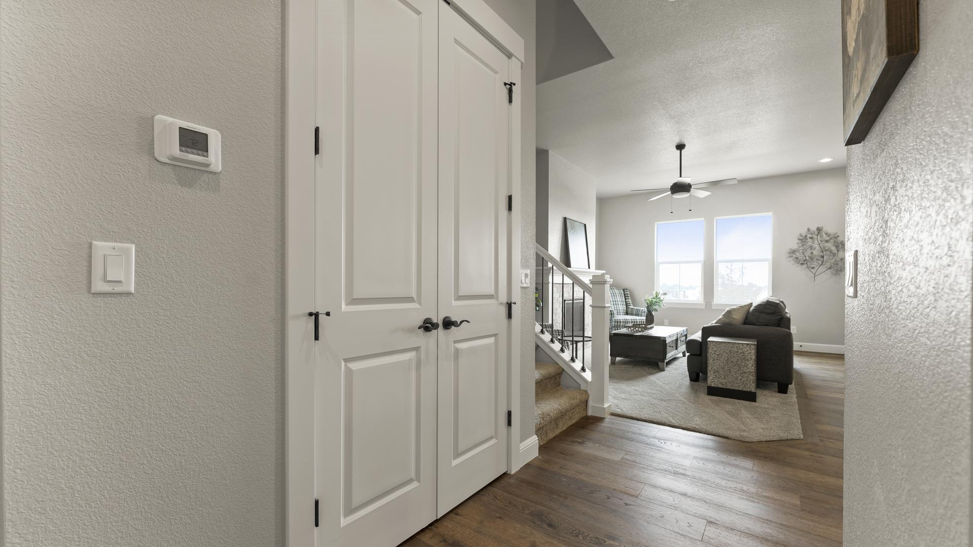 Hall - Not Actual Home - Finishes Will Vary