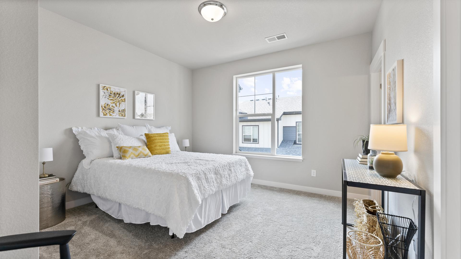 Bedroom 2  - Not Actual Home - Finishes Will Vary