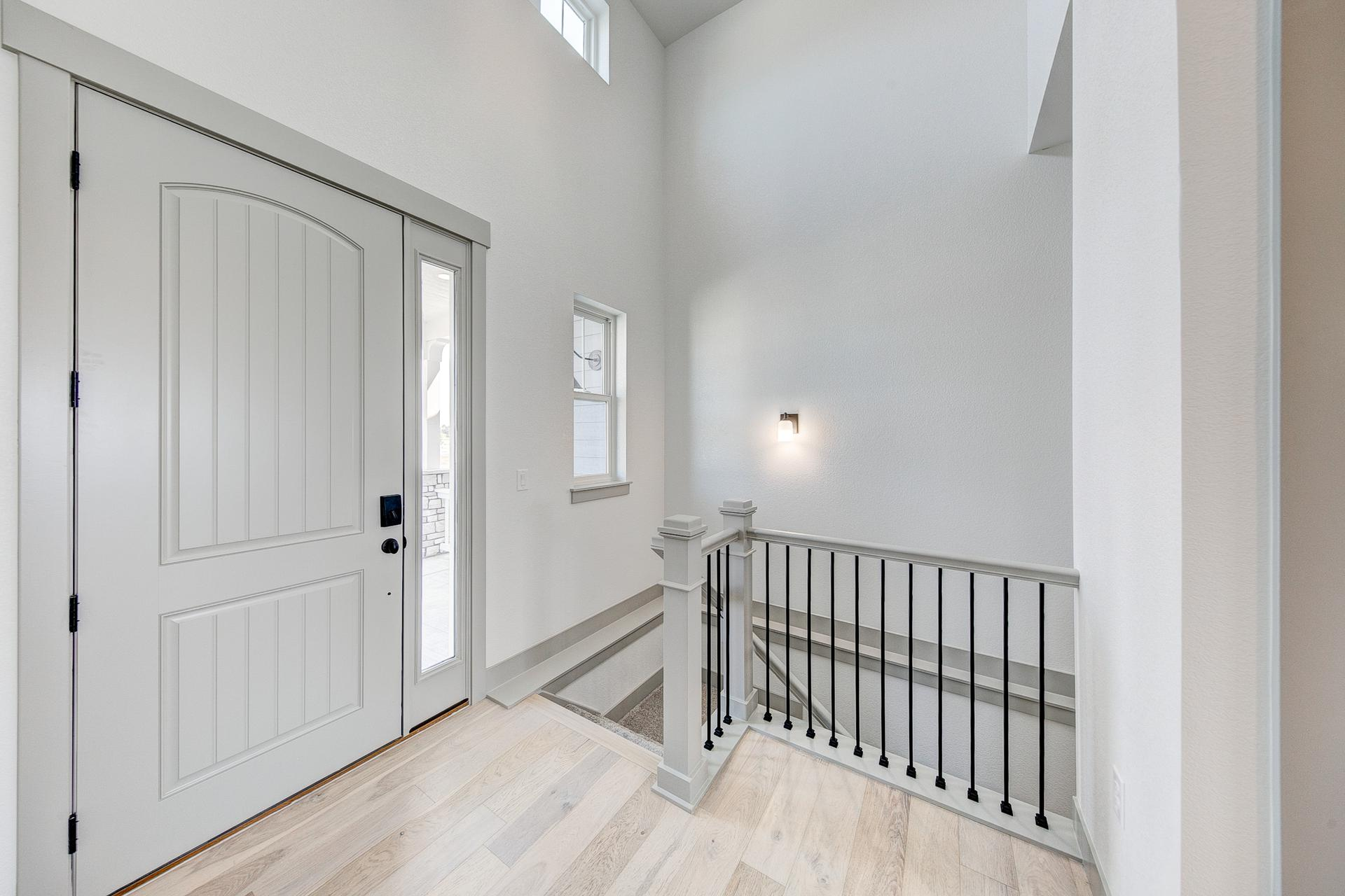 Foyer - Not Actual Home - Finishes Will Vary