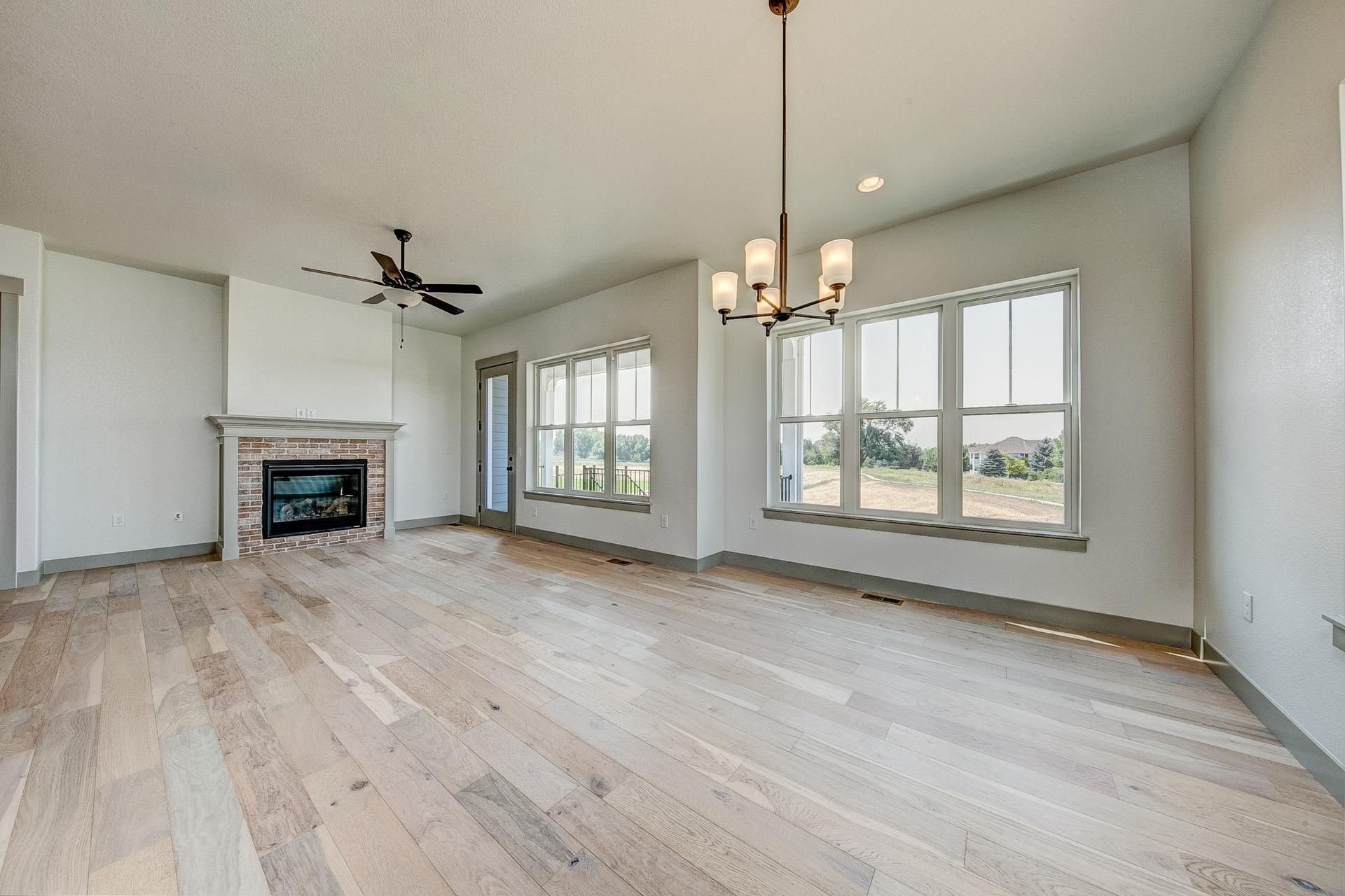 Dining & Living Room - Not Actual Home - Finishes Will Vary