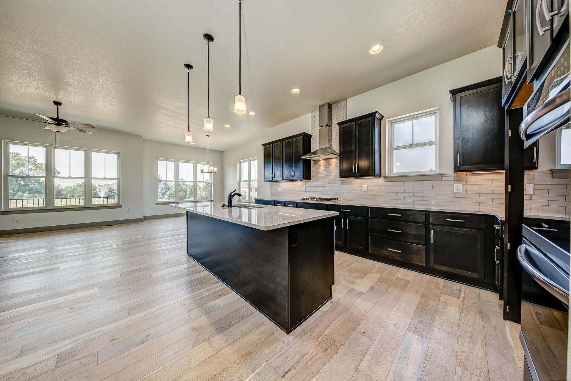 Kitchen - Not Actual Home - Finishes Will Vary . New Home in Windsor, CO