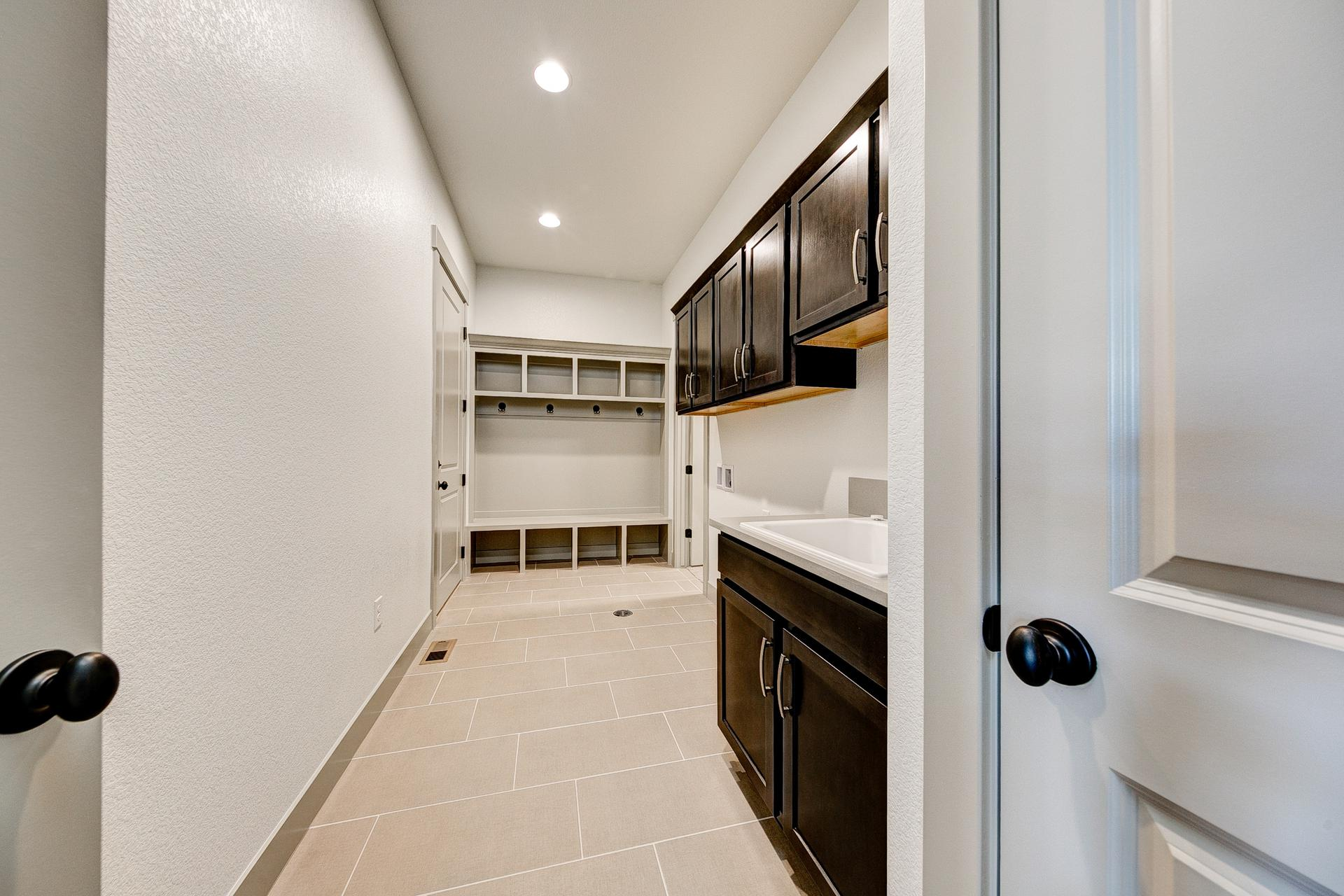Laundry - Not Actual Home - Finishes Will Vary
