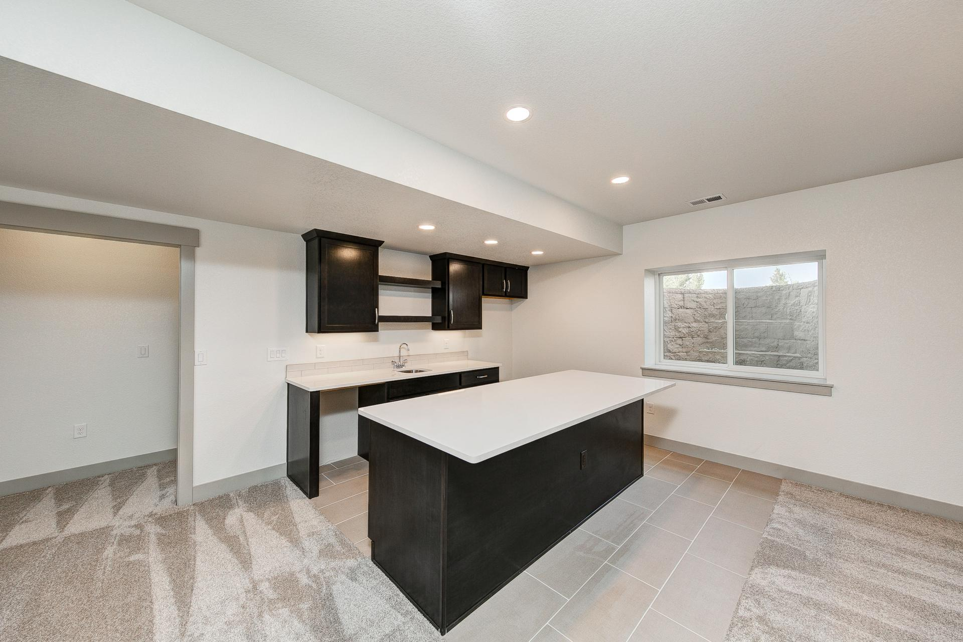 Finished Basement - Not Actual Home - Finishes Will Vary