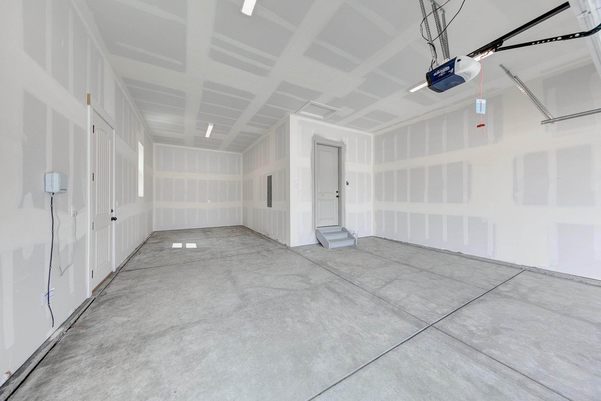 Garage - Not Actual Home - Finishes Will Vary