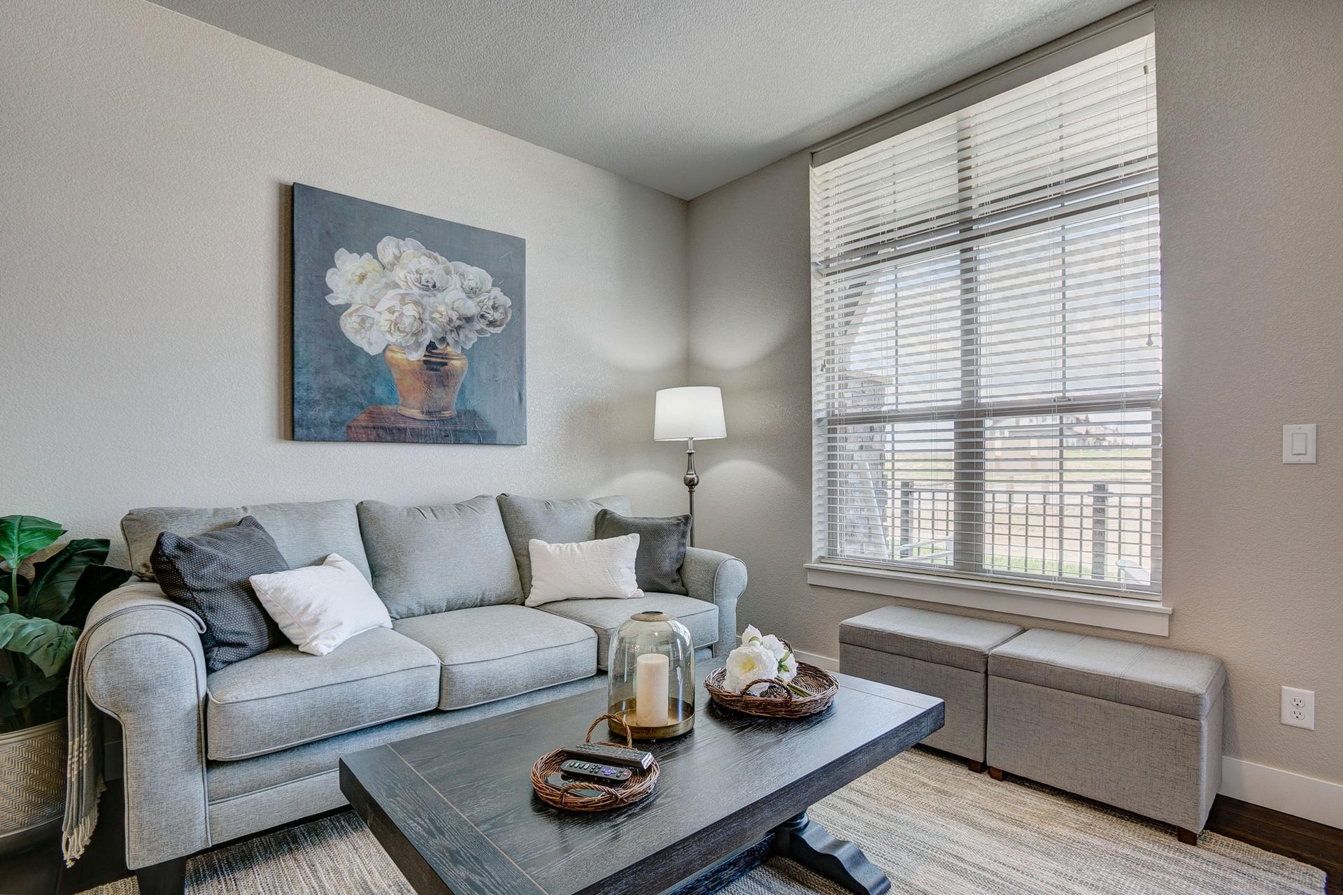 Living Room -  Previous Cambridge Floor Plan