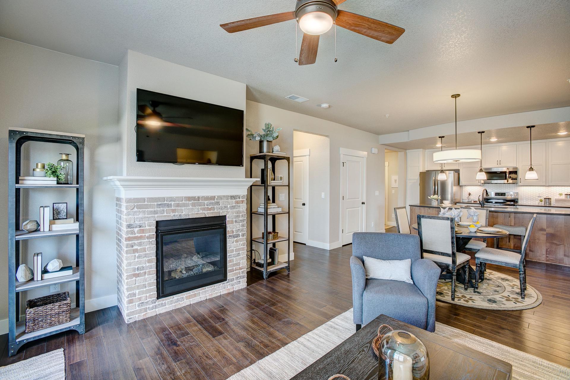 Living Room -  Previous Cambridge Floor Plang