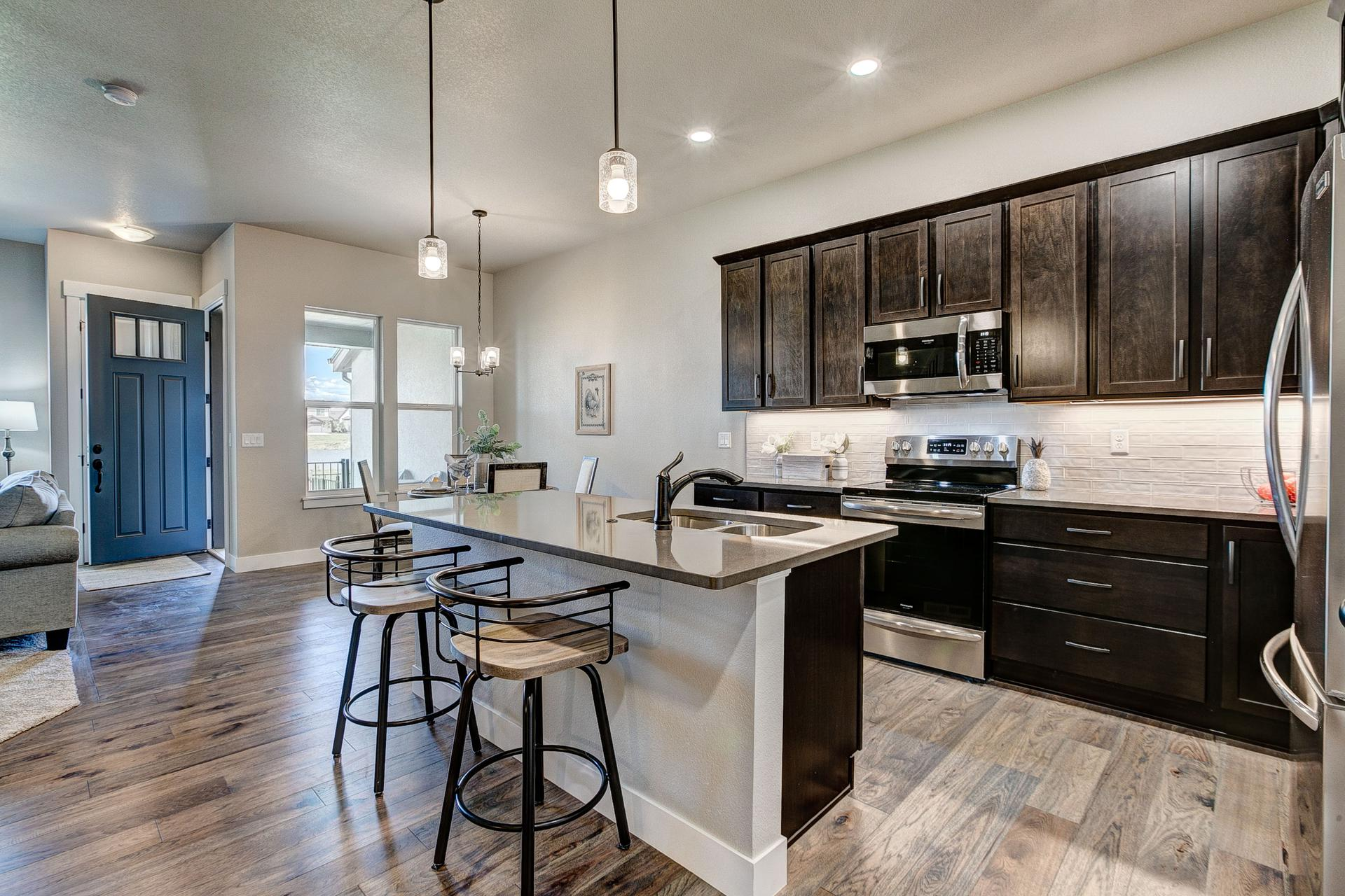 Kitchen - Not Actual Home - Finishes Will Vary . Windsor, CO New Home